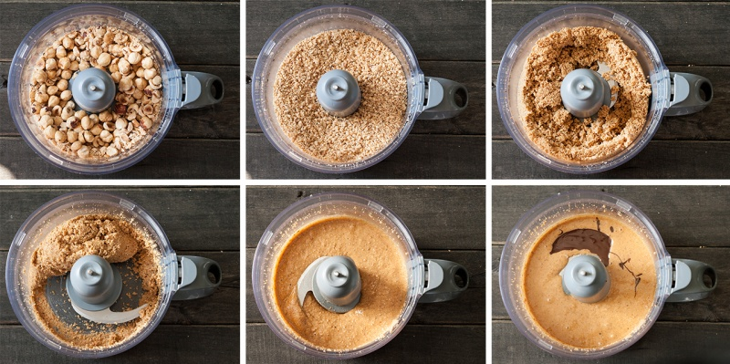vegan nut butter step by step