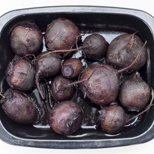 oven roasted beetroots