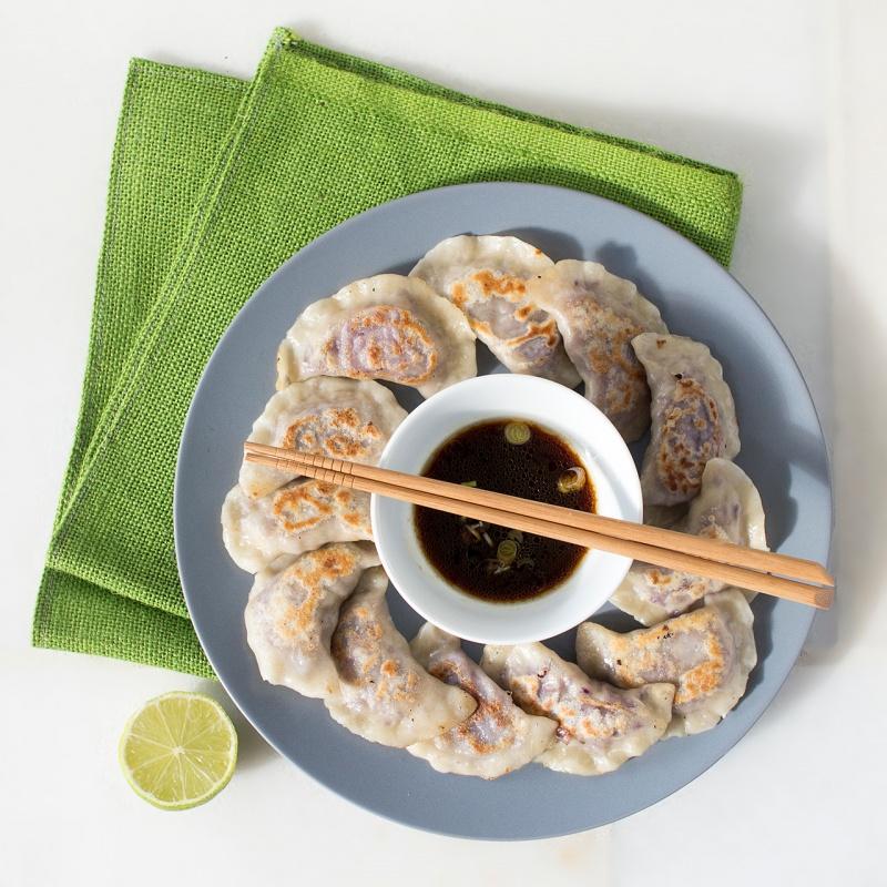cabbage dumplings serving suggestion