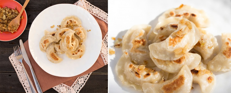ruskie dumplings
