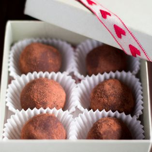 vegan truffles for valentines