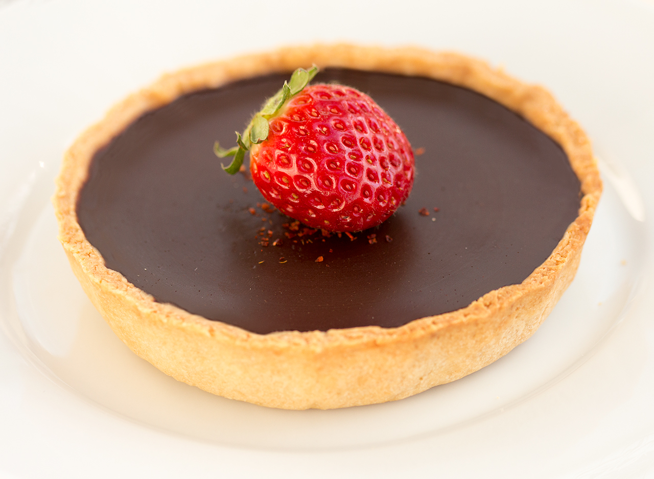 Chilli chocolate tarts - Lazy Cat Kitchen