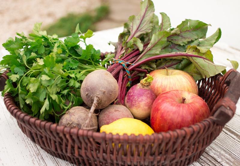 beetroot and apple salad key ingredients