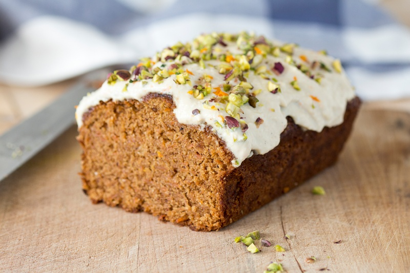 Vegan Carrot Cake With Delicate Frosting Lazy Cat Kitchen