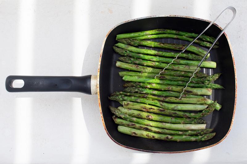 gridled asparagus
