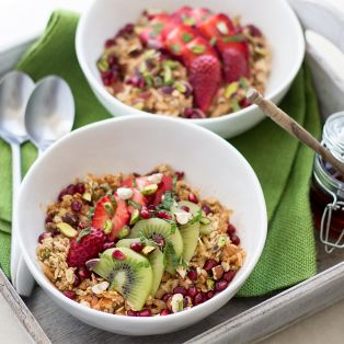Bircher muesli for two