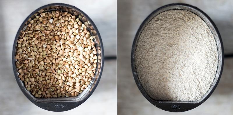 homemade buckwheat flour