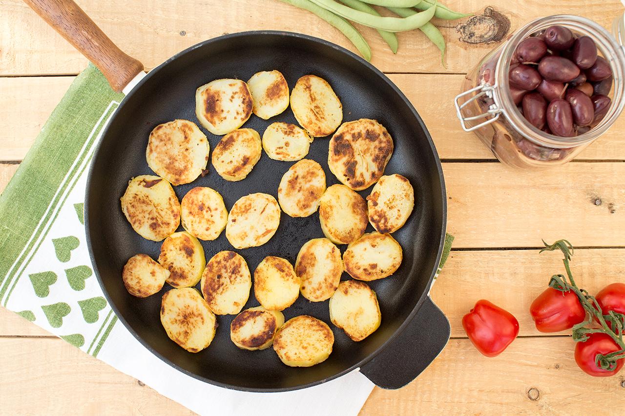 przysmażane ziemniaki