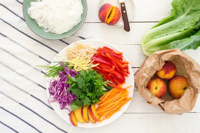 vegan summer rolls ingredients