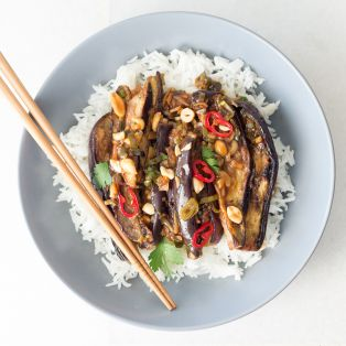 Jamies Kung Pao Chicken Portion Top Down