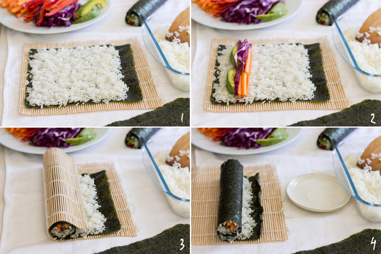 robienie sushi krok po kroku