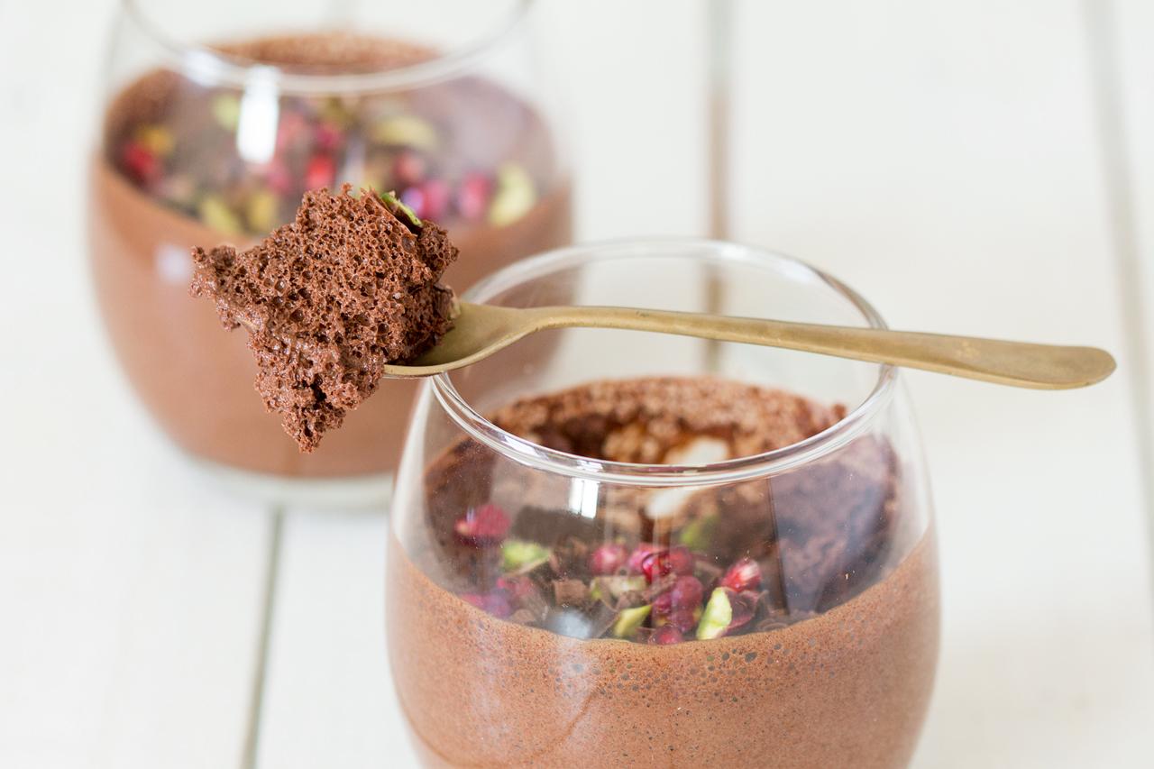 wegański mus czekoladowy konsystencja