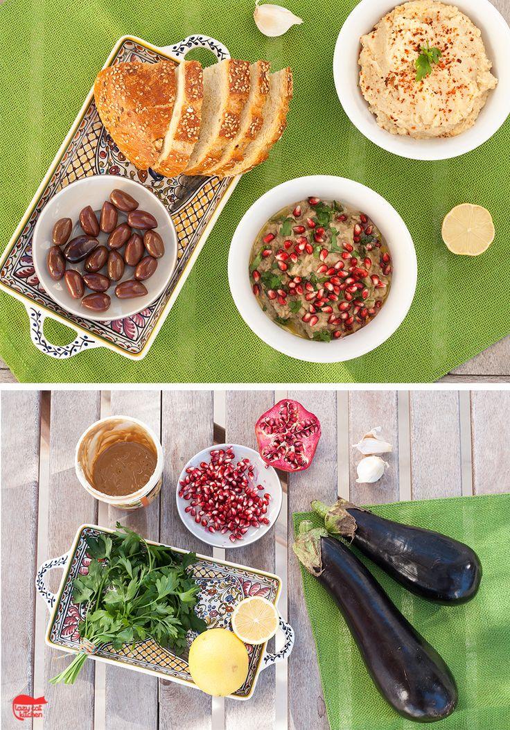 Baba ganoush – aubergine spread