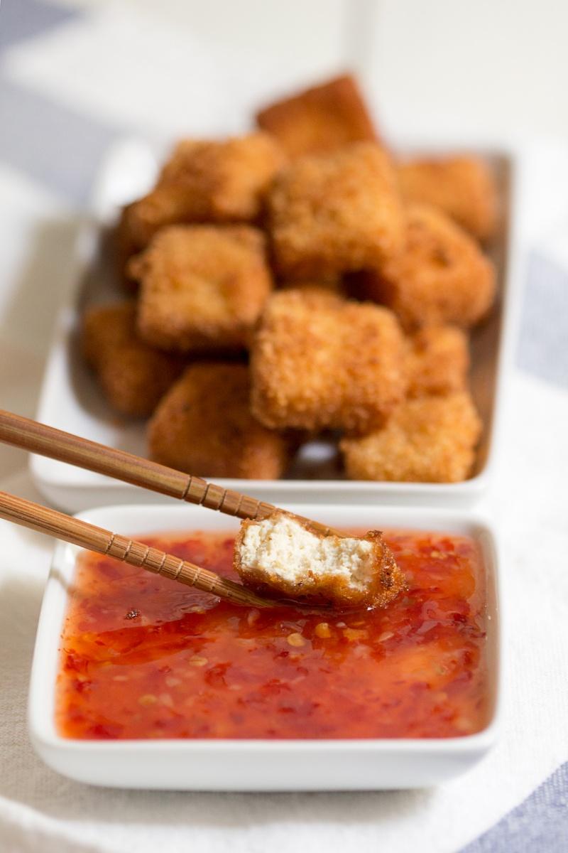 tofu katsu cross section