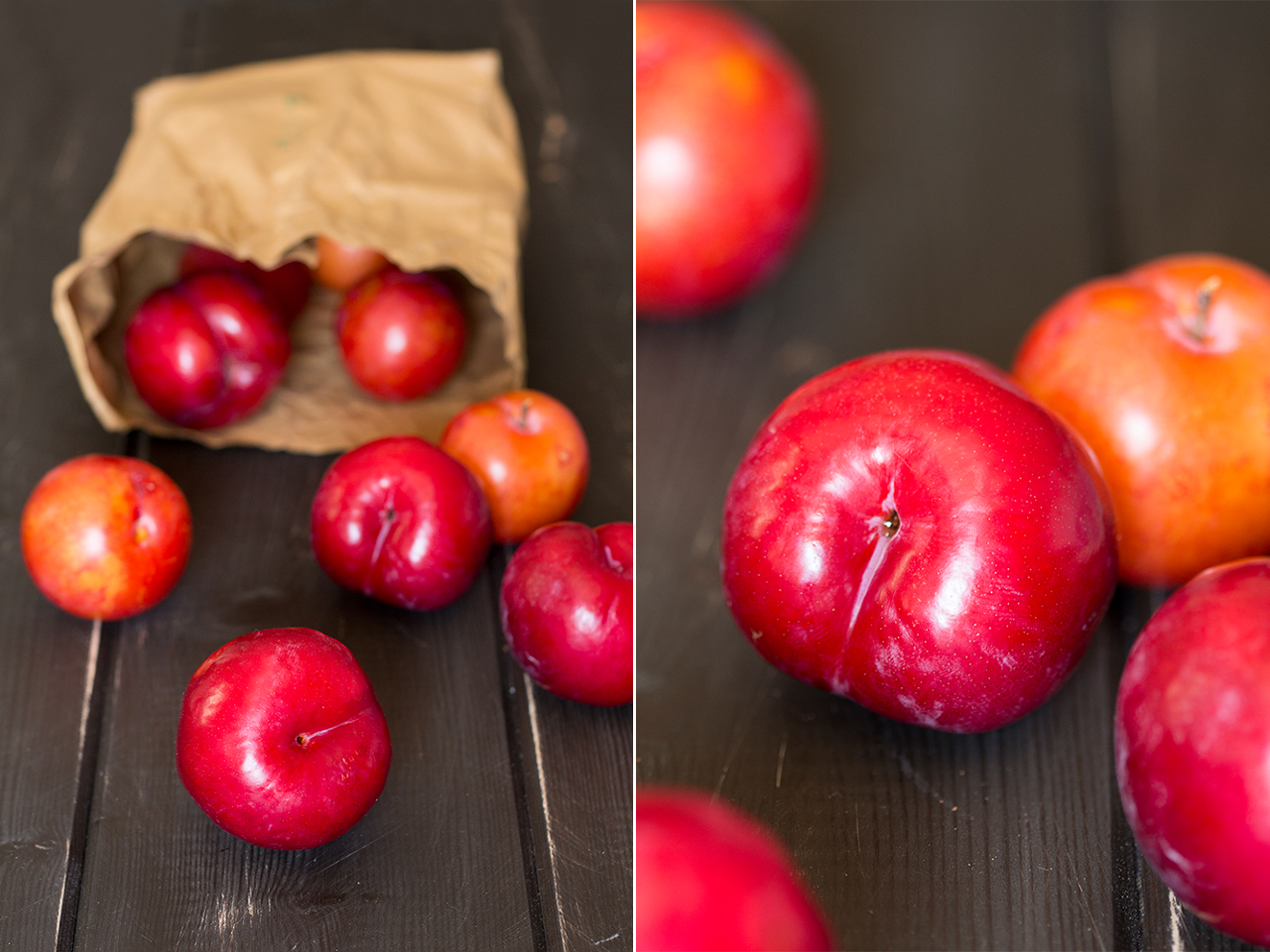 fresh plums duo