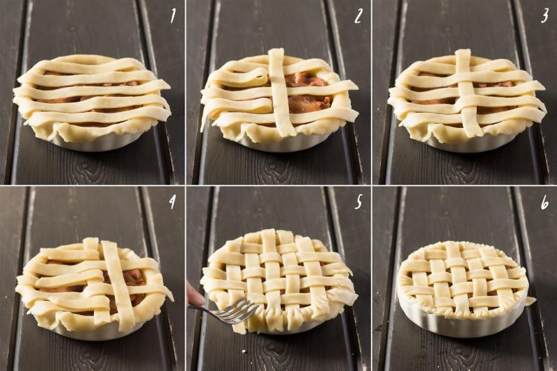 how to make lattice top