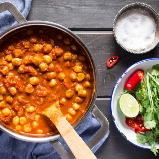 chana masala indian chickpea curry