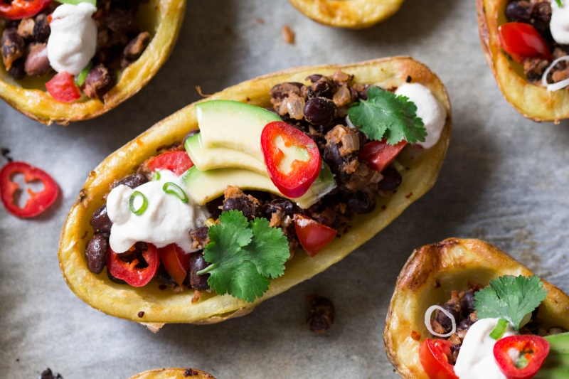 mexican potato skin