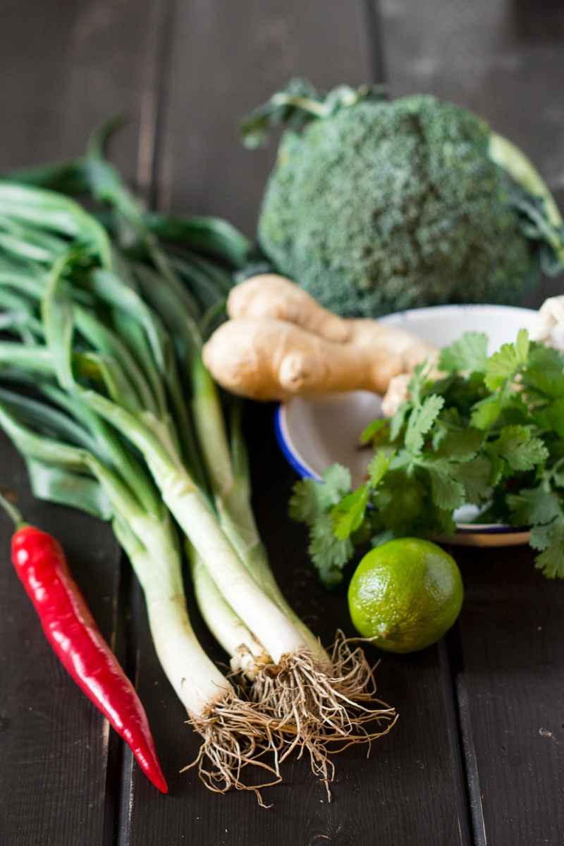 detox stir fry ingredients