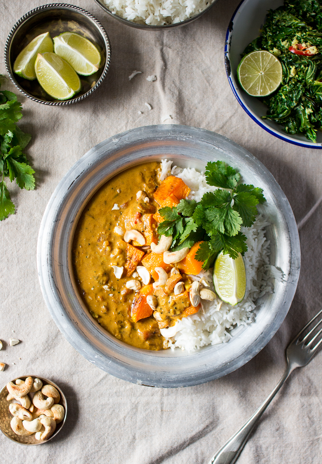 Pumpkin Coconut Curry Lazy Cat Kitchen
