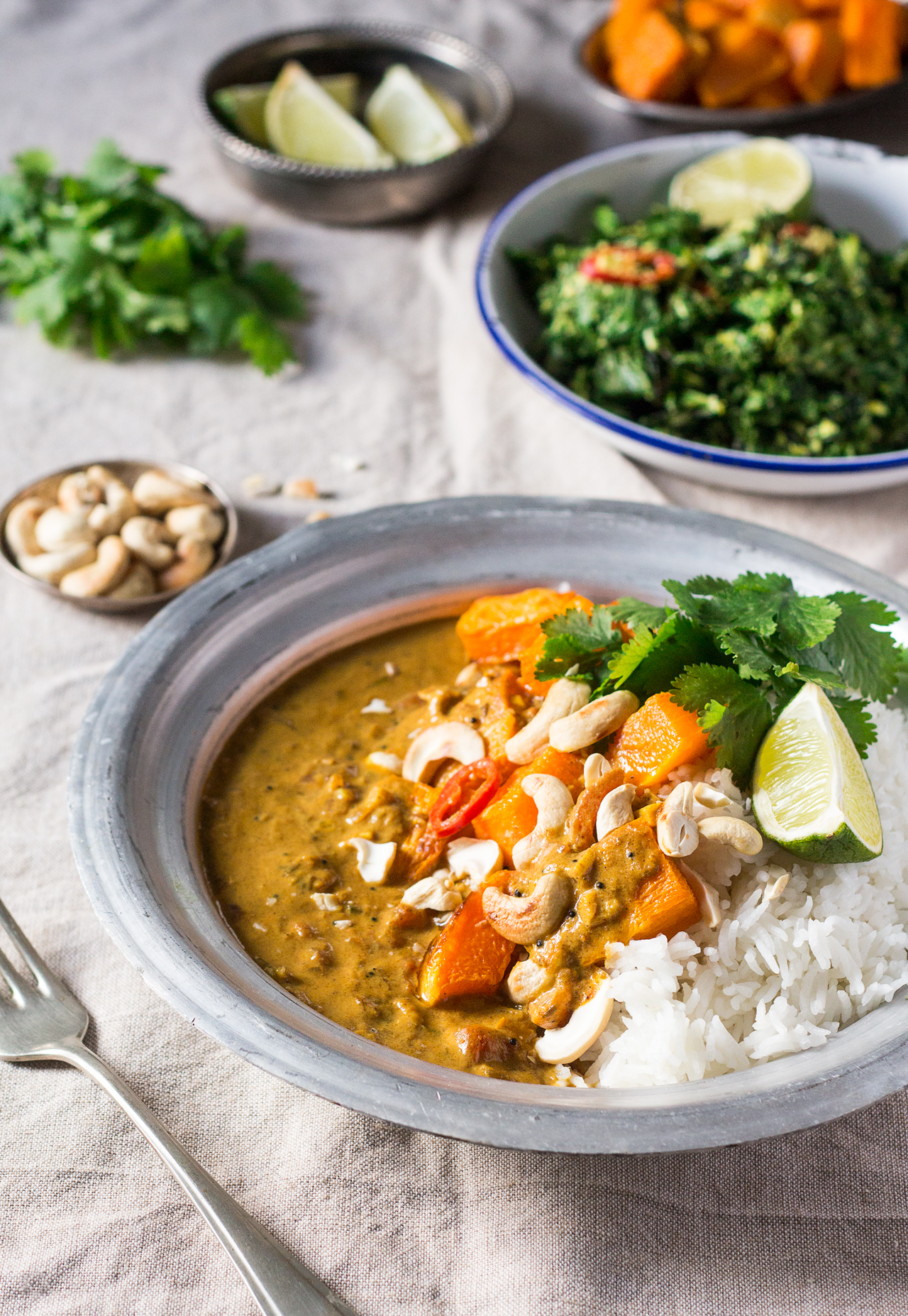 pumpkin coconut curry