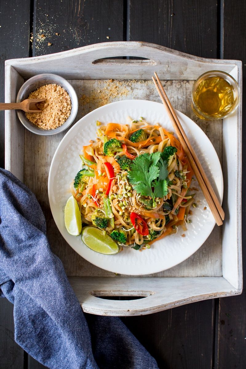 vegan pad thai for one