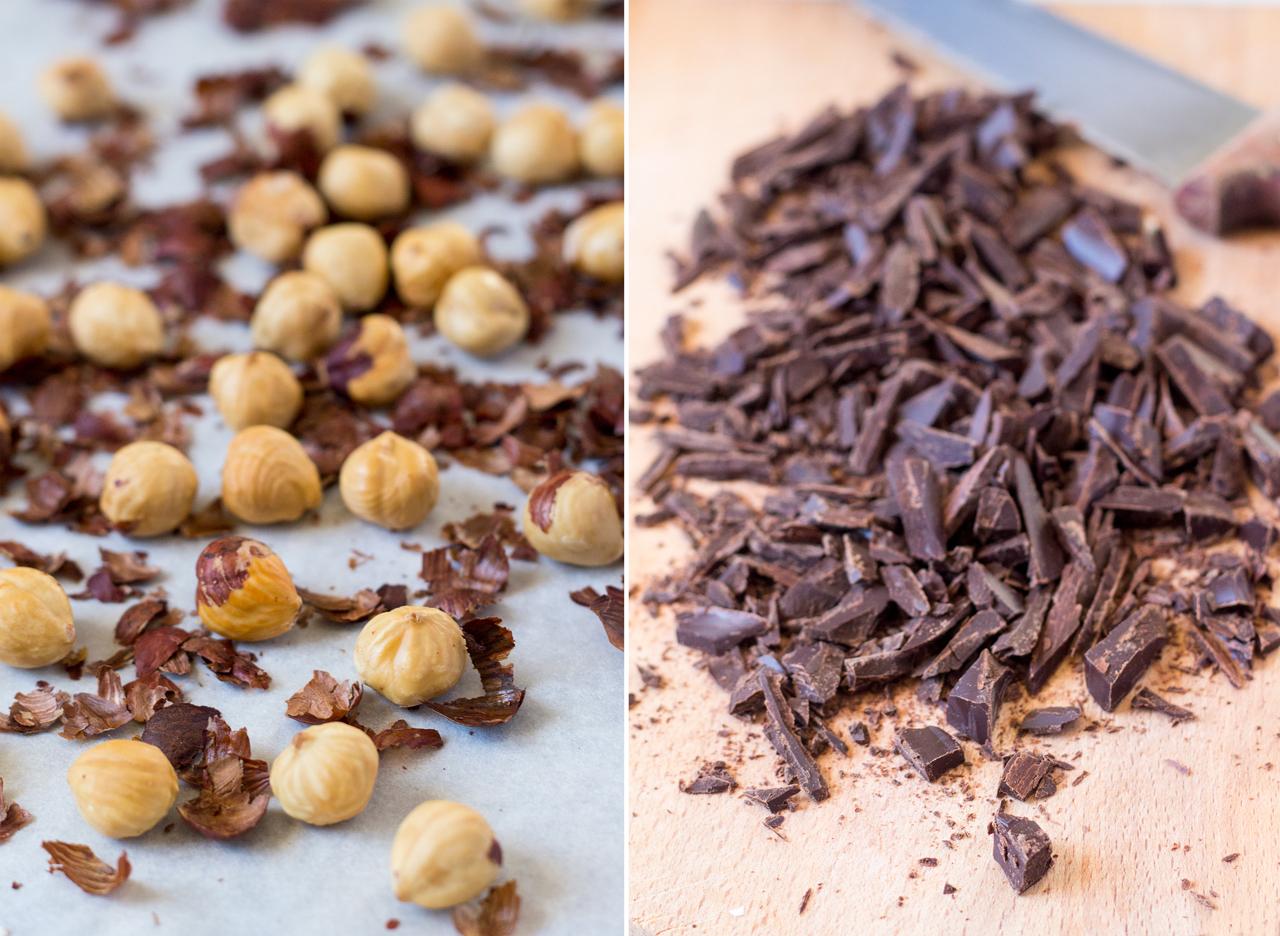 hazelnut filling for vegan chocolate crepes