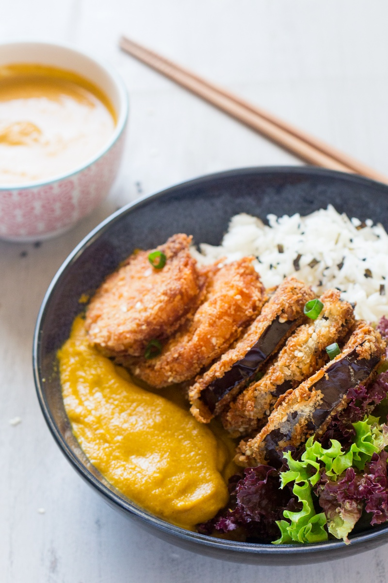 Vegan Katsu Curry Lazy Cat Kitchen