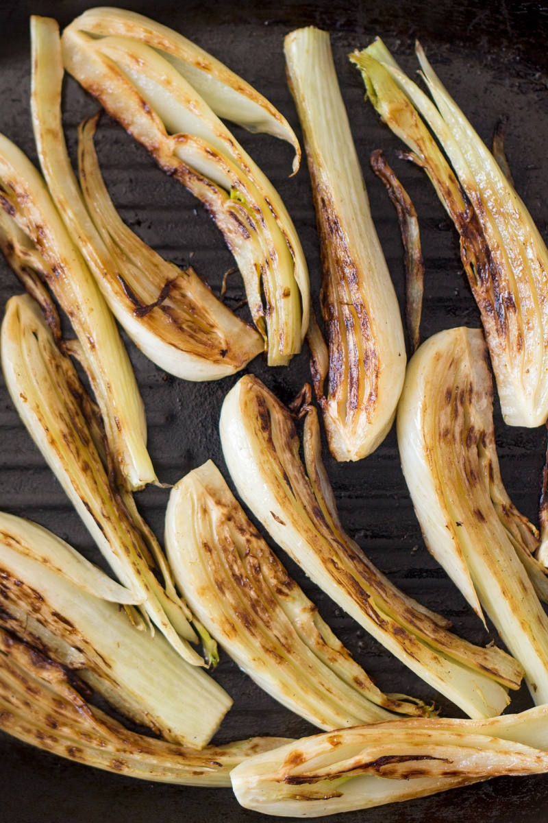 charred fennel for fennel pasta