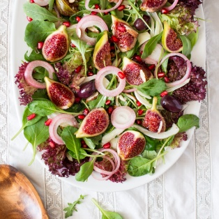 fig and rocket salad
