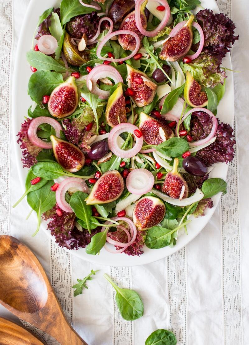 fig and rocket salad