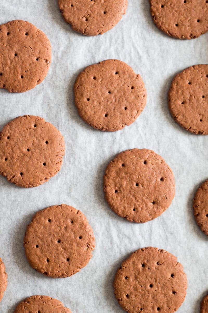 vegan glutenfree icecream sandwich cookies