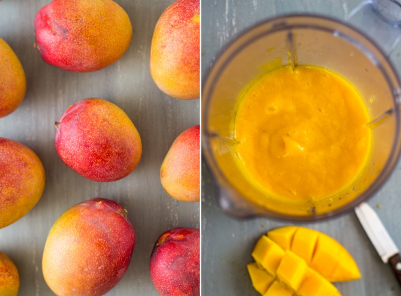 vegan mango and ginger cheesecake mangoes