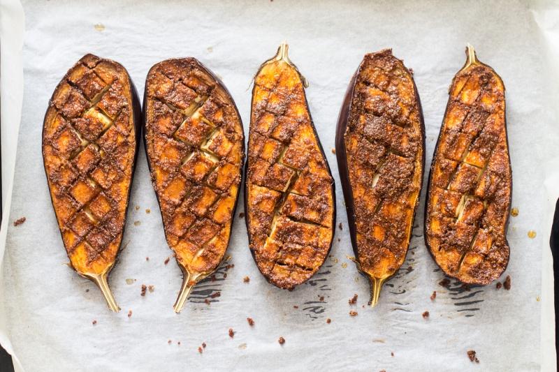 roasted aubergine