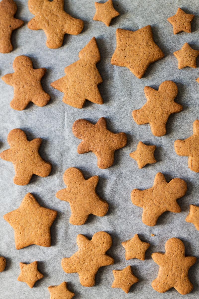 baked vegan gingerbread