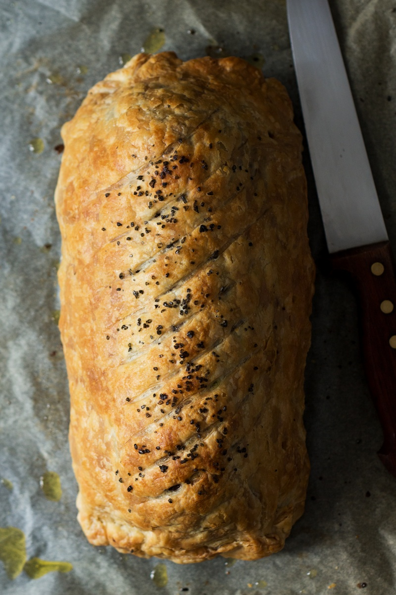 beet Wellington whole