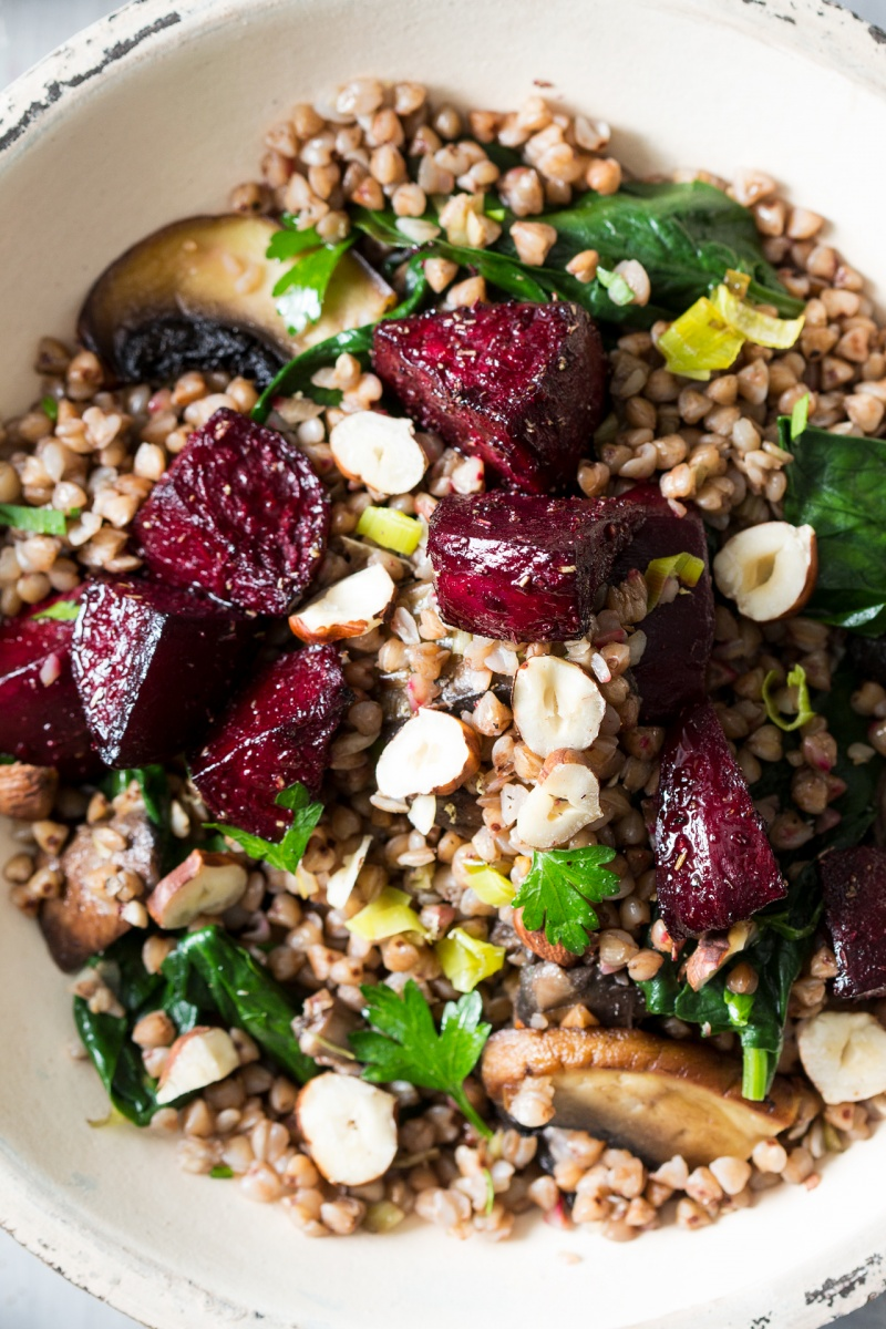 buckwheat beetroot salad macro