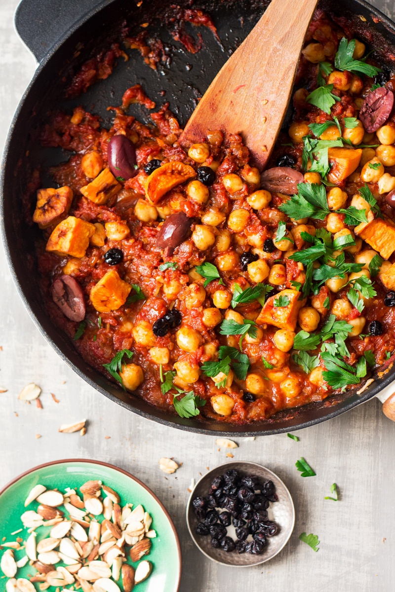 Moroccan chickpea stew lazy cat kitchen moroccan chickpea stew forumfinder Gallery