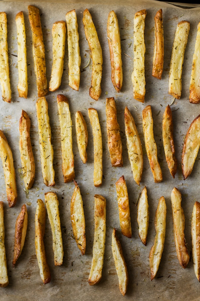 rosemary fries baked