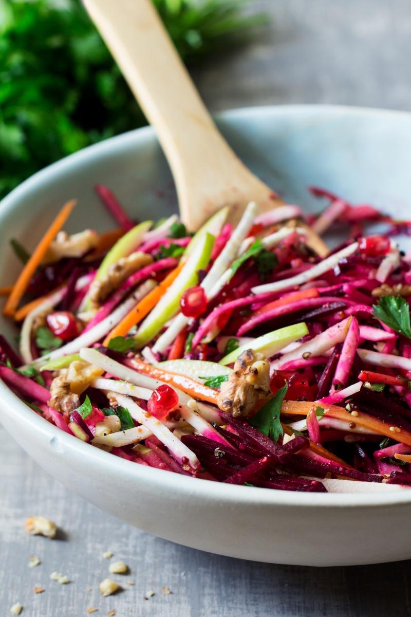 Christmas Salad.Vegan Christmas Salad