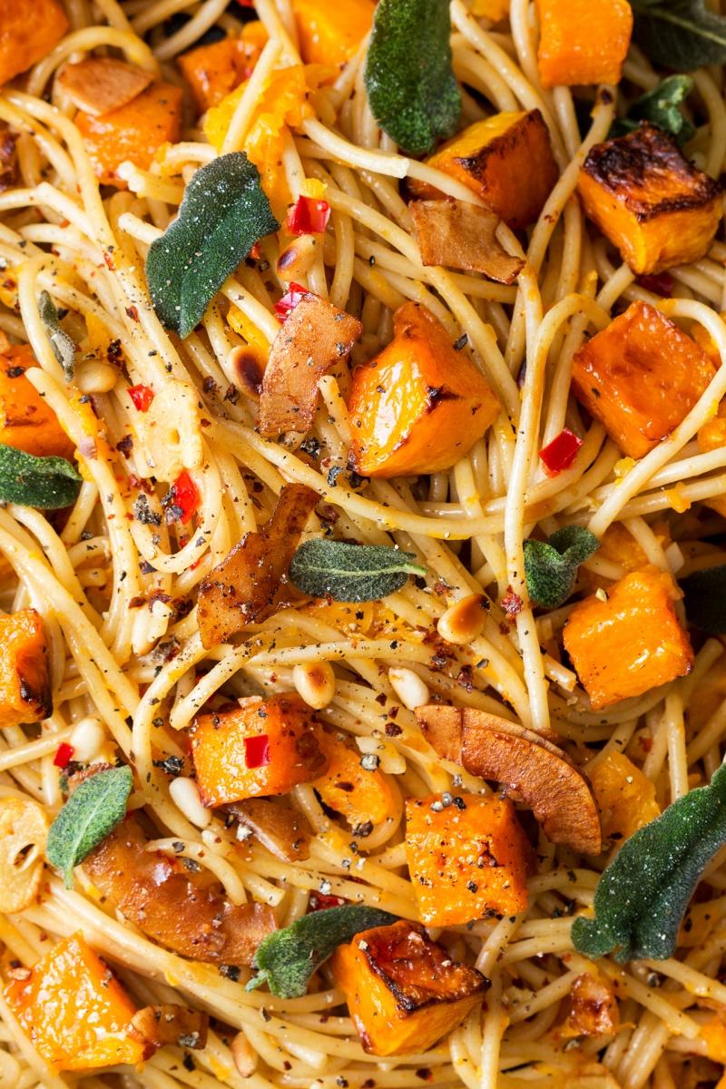 vegan pumpkin pasta macro