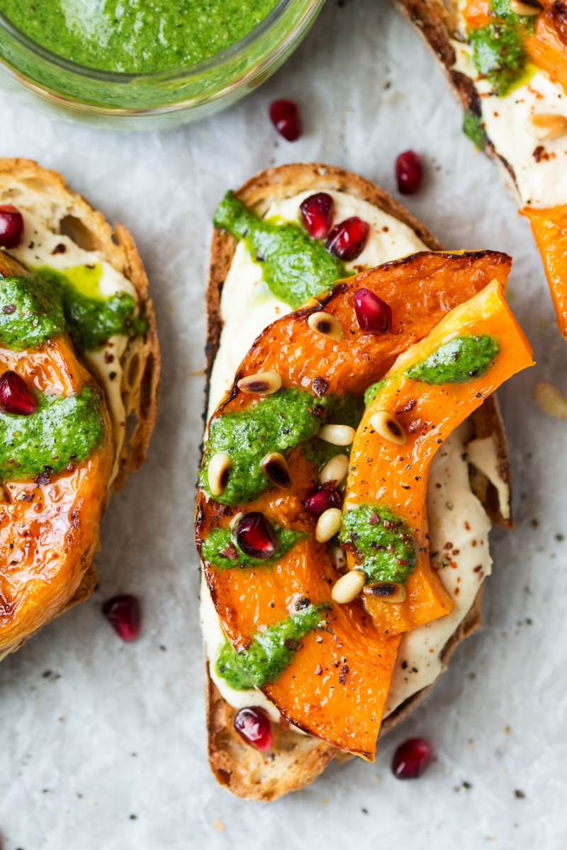 pumpkin crostini one
