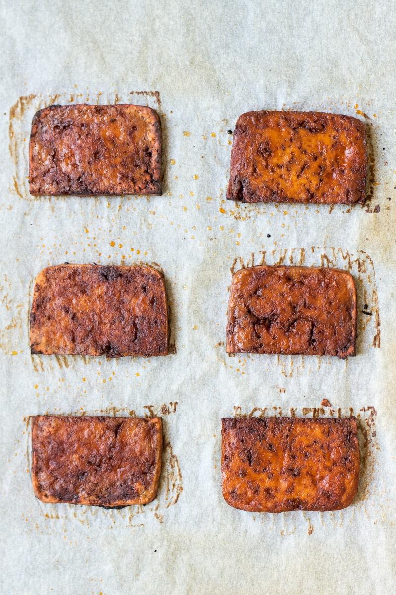 vegan blt sandwich grilled tofu