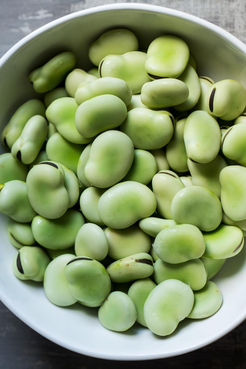 vegan ravioli broad beans