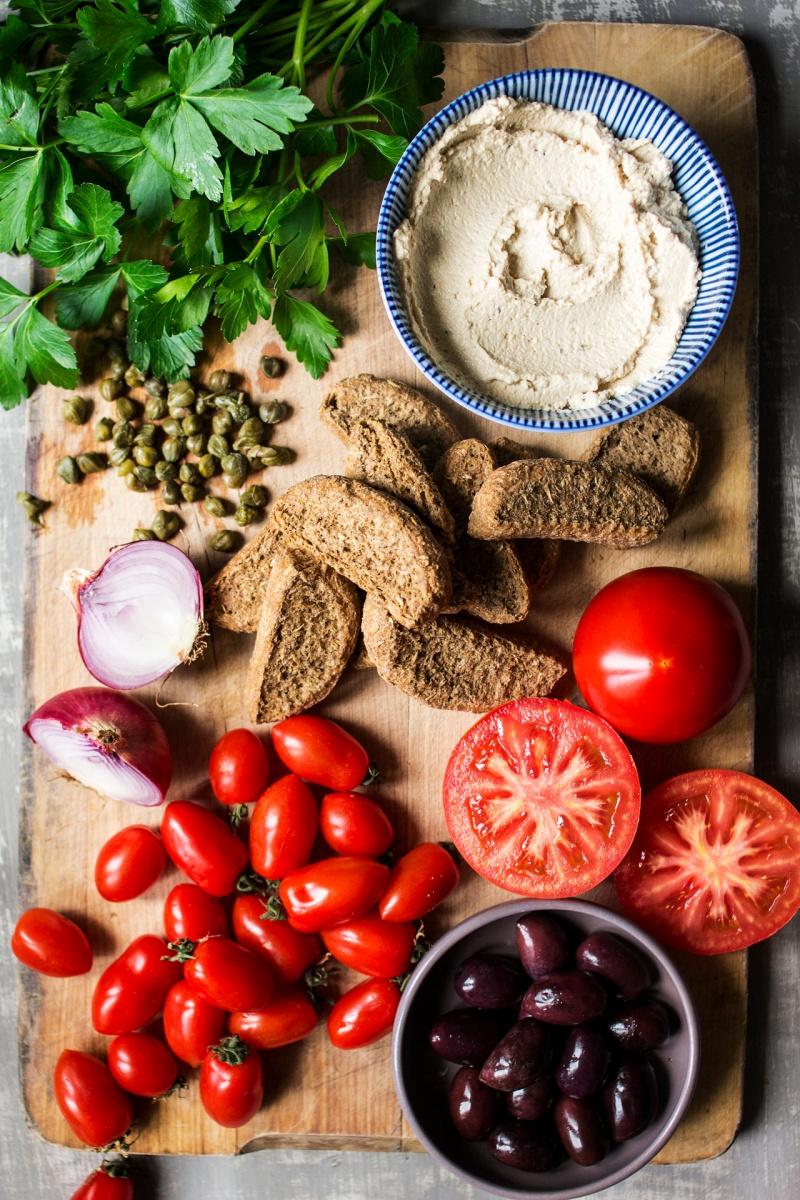 dakos salad ingredients