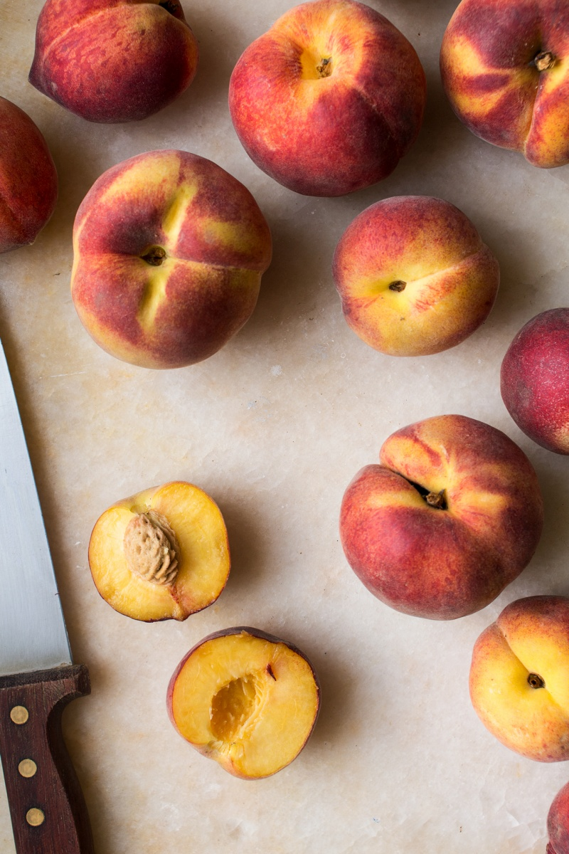 PS: If you make my peach salad with maple balsamic glaze, don't ...
