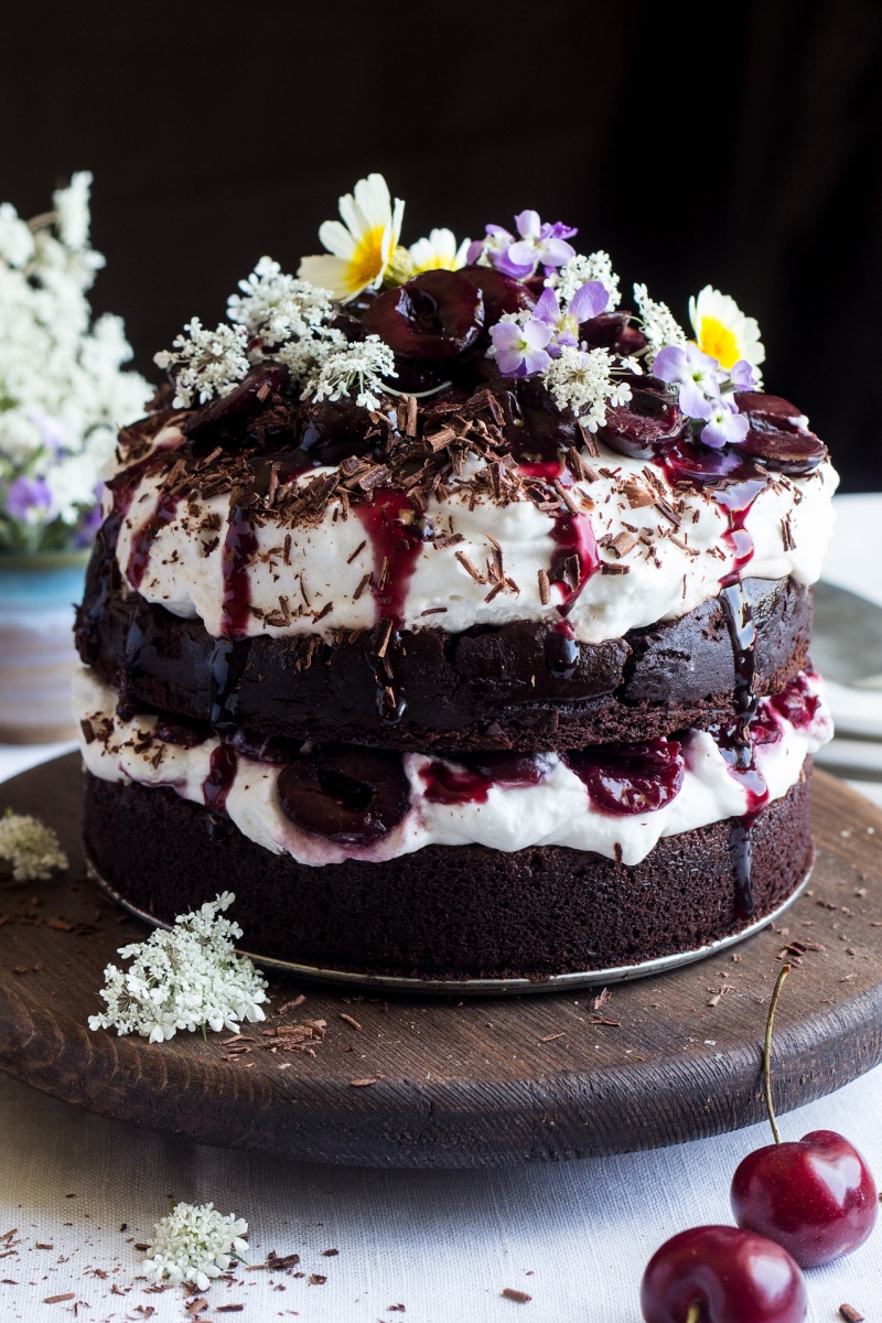 Black Forest Cake Recipe In Cooker