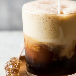 espresso cappuccino freddo glass