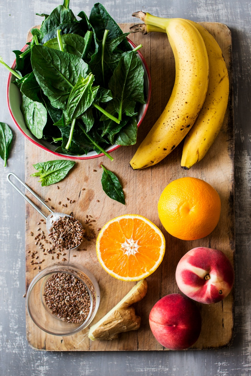 vegan green smoothie ingredients