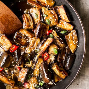 vegan chinese aubergine